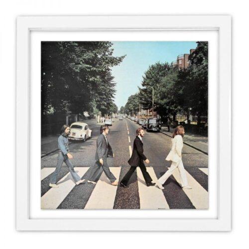 Vinyl Cover Rahmen Klavierlack | Fünf vor Zehn