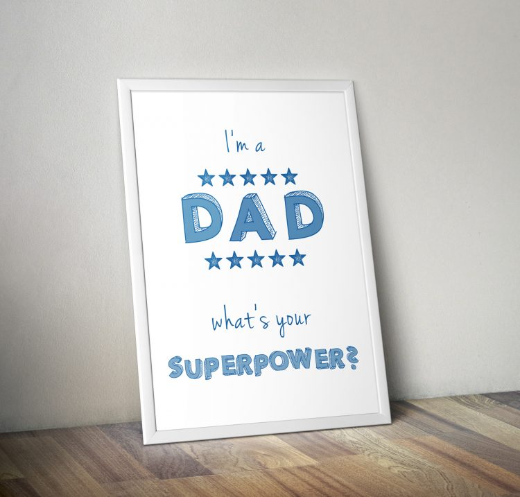 Fine Art Print - Superpower MUM 2
