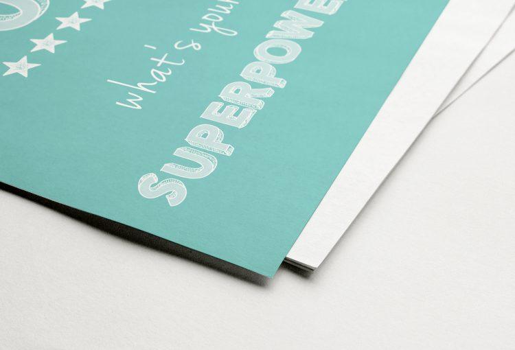 Fine Art Print - Superpower MUM