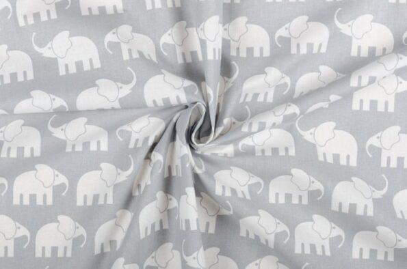 "Zugluftstopper ""Elefant grau"" | Fünf vor Zehn"