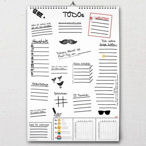 DIN-A2 TODO-Liste Sketch