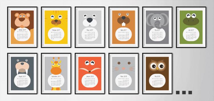 Kalender Zoo | Fünf vor Zehn