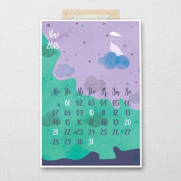 "Kalender DIN-A3 ""Traumfänger"" | Fünf vor Zehn"