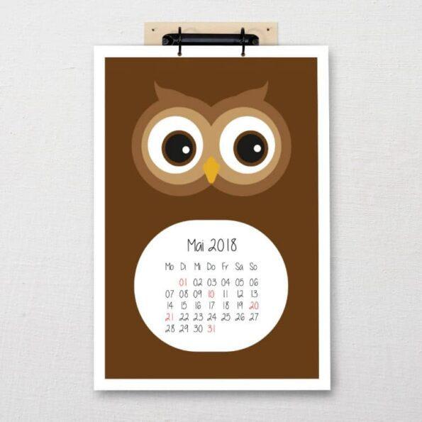 """Kalender """"Zoo"""""""