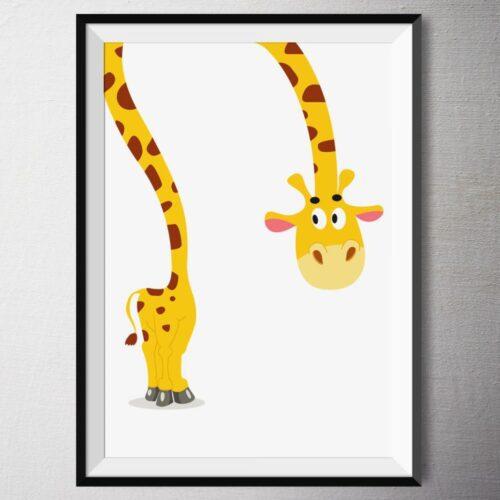 Fine Art Print - Giraffe Fiona | Fünf vor Zehn