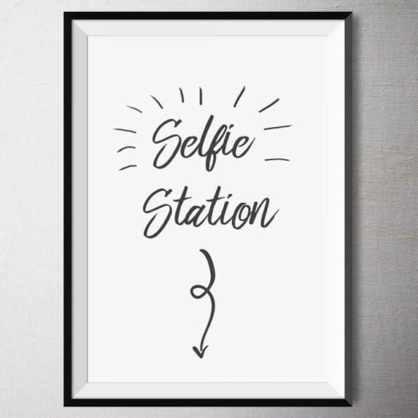 Fine Art Print - Selfie Station | Fünf vor Zehn