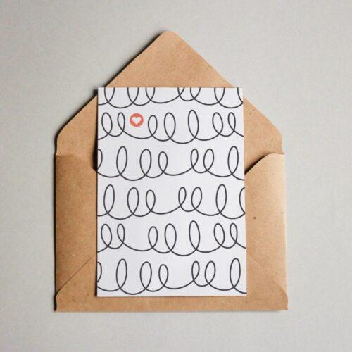 Karten mit Muster