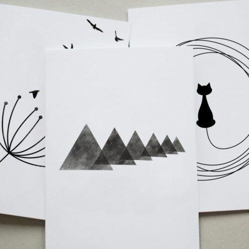 Postkarten Sets