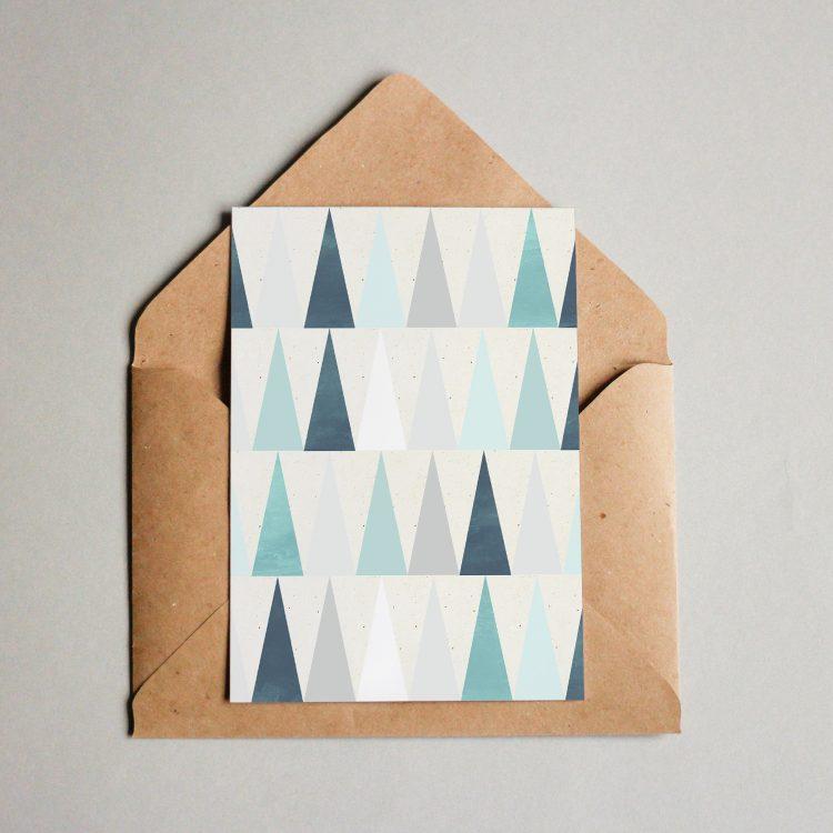 Tannenbaum Muster.Muster 018 Wald