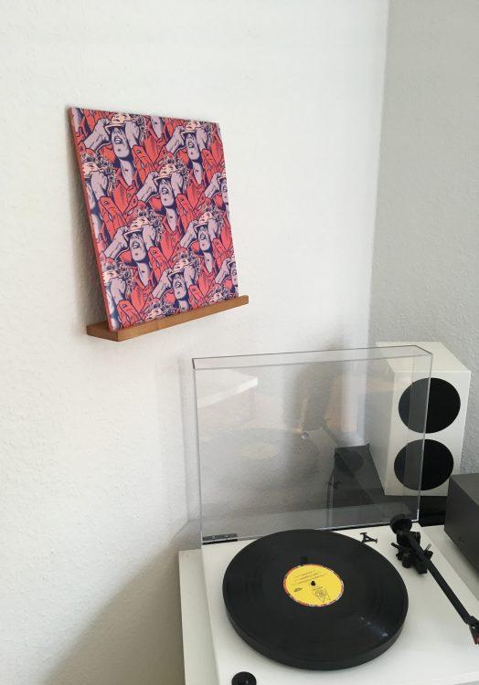 Vinyl Wandhalter