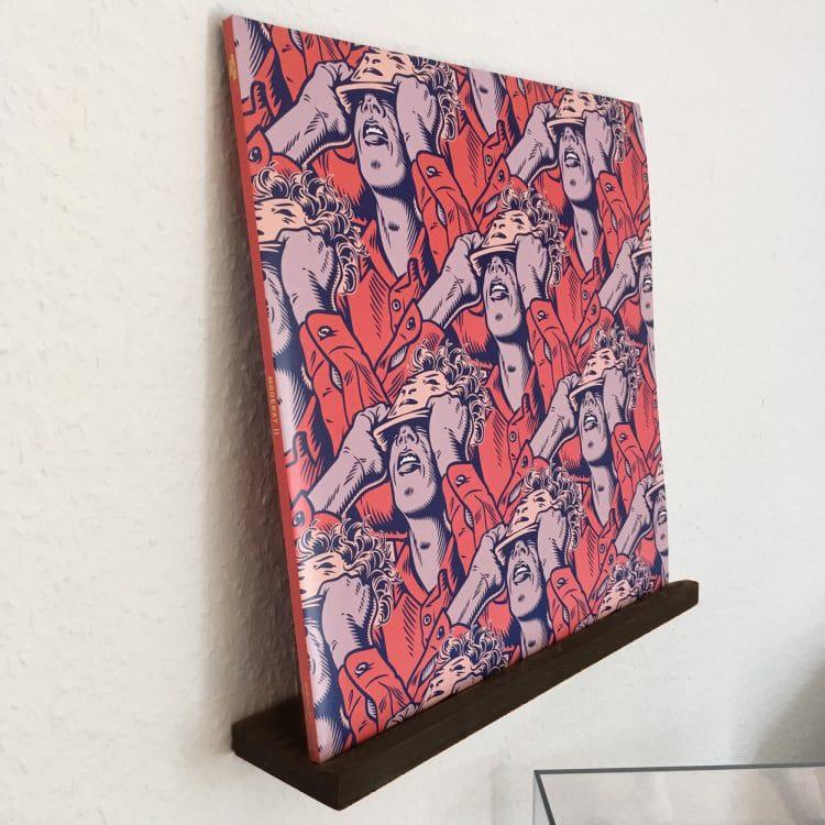 Vinyl-Wandhalter-Buche